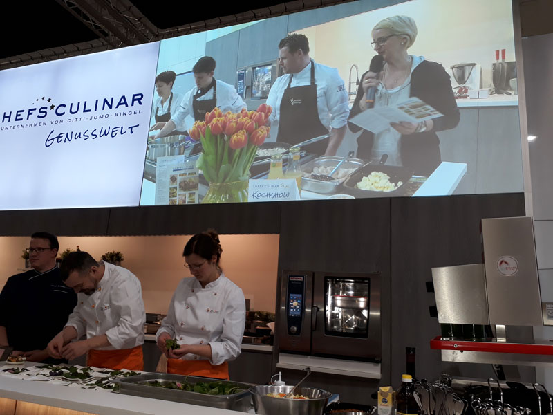 """Chefs Culinar Messe 2017 in Berlin vom 02.04-03.04.2017"